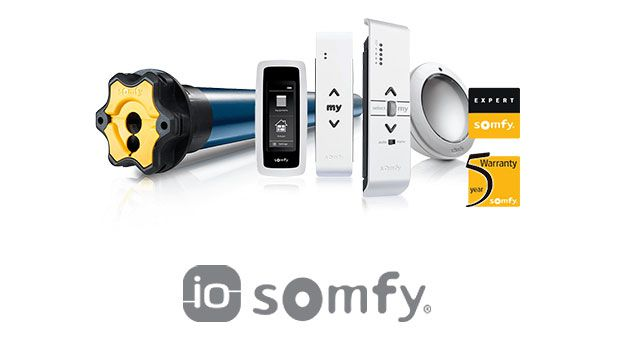 Автоматика Somfy iO-homecontrol